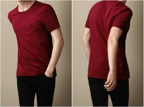 burberry t-shirt sale  england b1707 red